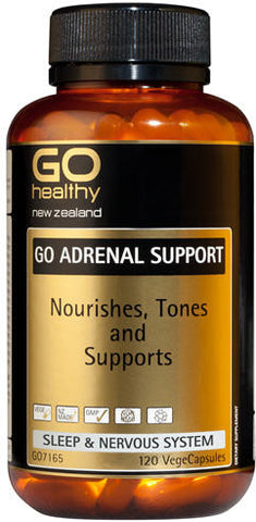 Go Healthy GO Adrenal Support Capsules 120