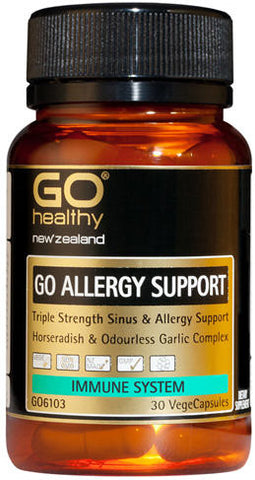 Go Healthy GO Allergy Support Capsules 30