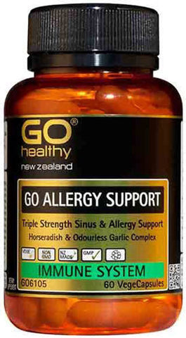 Go Healthy GO Allergy Support Capsules 60