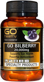 Go Healthy GO Bilberry 20,000 Capsules 60