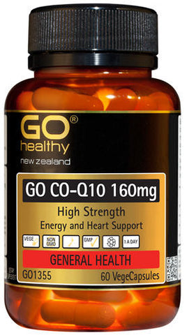 Go Healthy GO Co-Q10 160mg Capsules 60