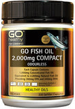 Go Healthy GO Fish Oil 2,000mg Compact SoftGel Capsules 230