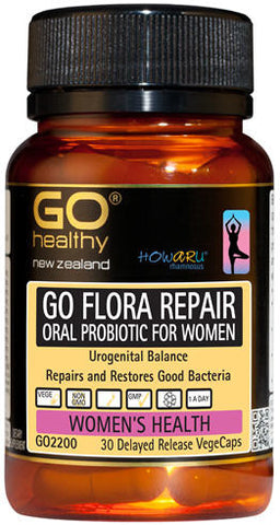Go Healthy GO Flora Repair VegeCaps 30