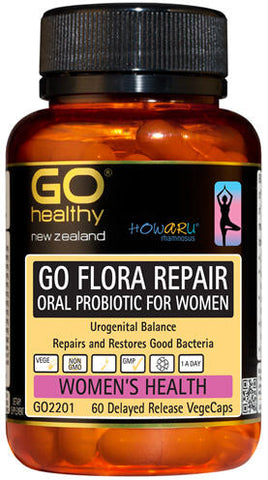 Go Healthy GO Flora Repair VegeCaps 60