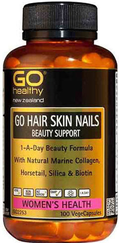 Go Healthy GO Hair Skin and Nails Beauty Formula Capsules 100