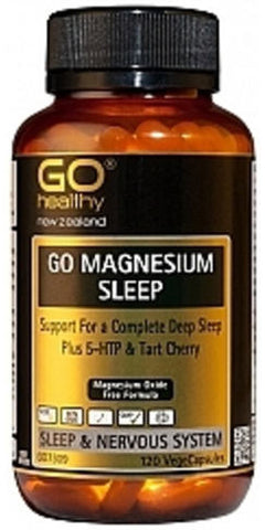 Go Healthy GO Magnesium Sleep Capsules 120