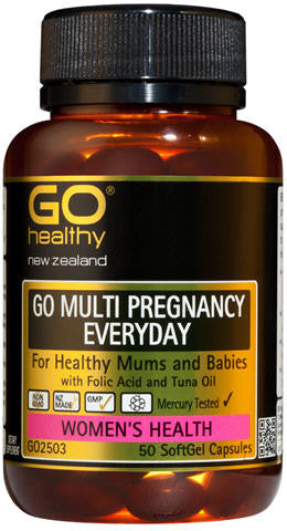 Go Healthy GO Pregnancy Multi SoftGels 50