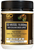 Go Healthy GO Mussel 19,000 New Zealand Green Lipped Mussel Capsules 300