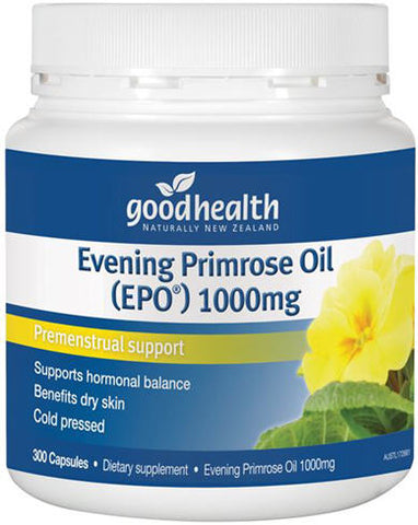 Good Health EPO Evening Primrose Oil Capsules 300