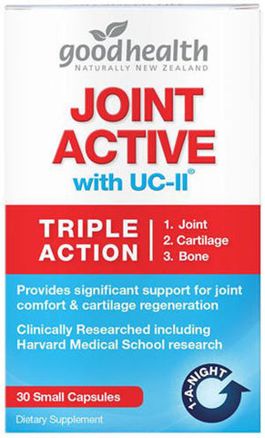 Good Health Joint Active with UC-II Triple Action Capsules 30