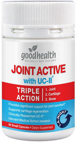 Good Health Joint Active with UC-II Triple Action Capsules 90