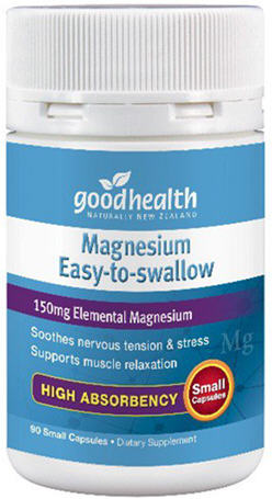 Good Health Magnesium Easy to Swallow Capsules 90