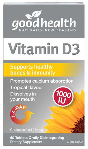 Good Health Vitamin D3 1000iu Sublingual Tablets 120 - unavailable