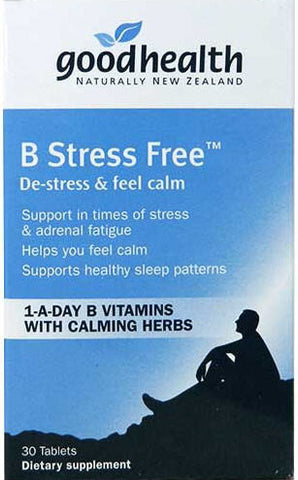 Good Health B Stress Free Tablets 30