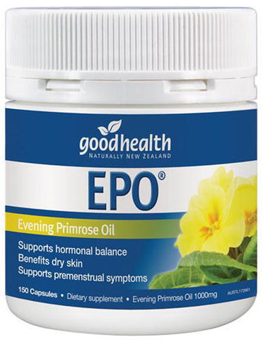 Good Health EPO Evening Primrose Oil Capsules 150