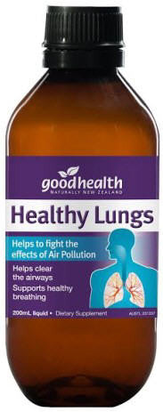 Good Health Healthy Lungs Liquid Tonic 200ml