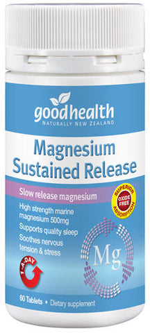 Good Health Magnesium Sustained Release Tablets 60