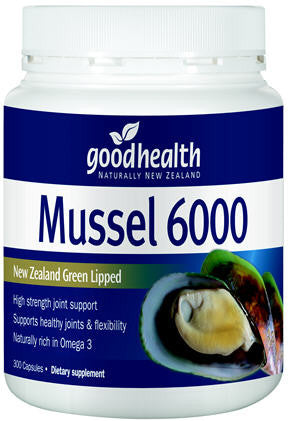 Good Health Mussel 6000 Capsules 300