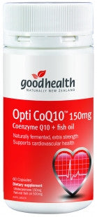 Good Health Opti CoQ10 150mg Capsules 60