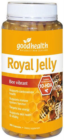 Good Health Royal Jelly 1000mg Capsules 365
