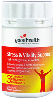 Good Health Stress and Vitality Support Capsules 30