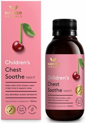 Harker Herbals Children's Chest Soothe Night 150ml