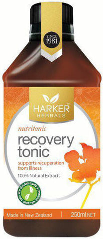 Harker Herbals Recovery Tonic - Nutritonic 250ml