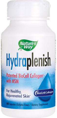 Nature's Way Hydraplenish Hyaluronic Acid with MSM Capsules 60