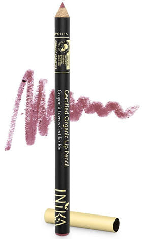 INIKA Certified Organic Lip Pencil 1.2g Dusty Rose