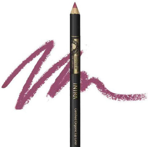 INIKA Certified Organic Lip Pencil 1.2g Moroccan Rose