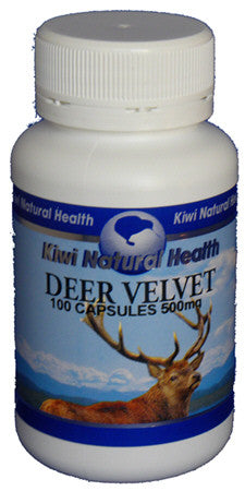 Kiwi Natural Health Deer Velvet 500mg Capsules 100