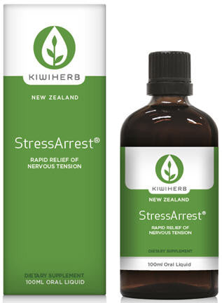 Kiwiherb StressArrest Oral Liquid 100ml