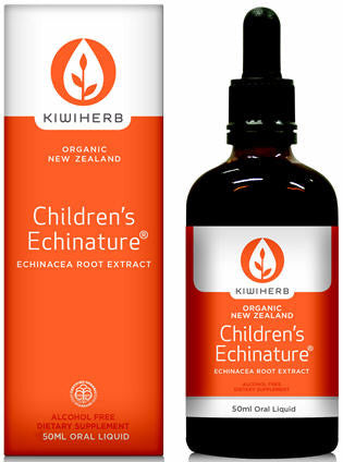 Kiwiherb Children's Echinature Echinacea Root Extract 50ml