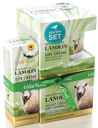 Wild Ferns Lanolin AM/PM Set