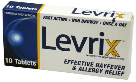 Levrix Allergy Relief Tablets 5mg 10