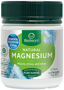 Lifestream Natural Magnesium Powder 75g
