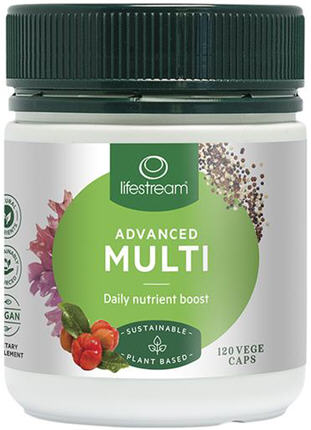 Lifestream Nature's Multi Advanced Capsules 120