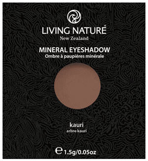 Living Nature Mineral Eyeshadow Kauri (Shimmer - Brown)