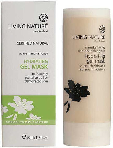 Living Nature Hydrating Gel Mask 50ml