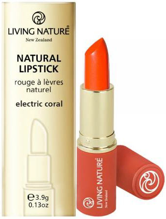 Living Nature Lipstick Electric Coral 15