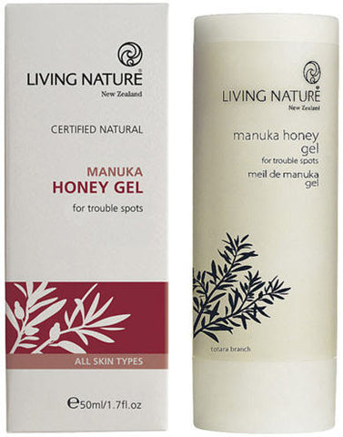 Living Nature Manuka Honey Gel 50ml