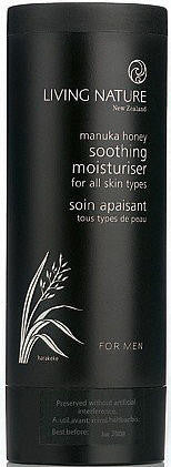 Living Nature Men's Soothing Moisturiser 100ml