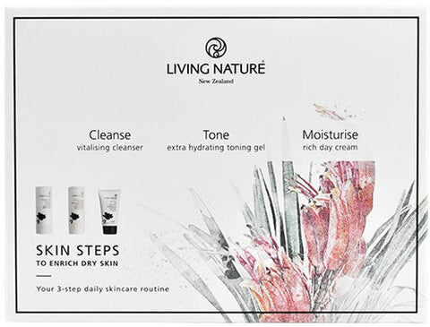 Living Nature Skin Steps To Enrich Dry Skin