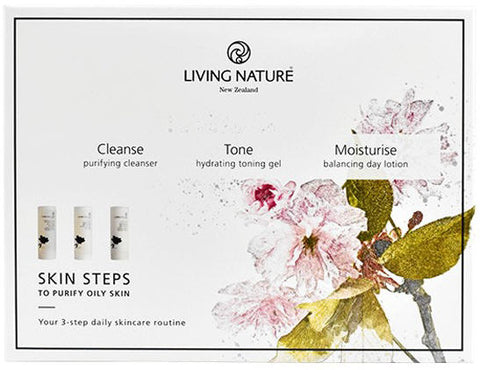 Living Nature Skin Steps to Purify Oily Skin