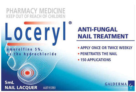 Loceryl Anti-Fungal Nail Treatment 5ml