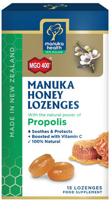 Manuka Health Manuka Honey and Propolis Lozenges 15