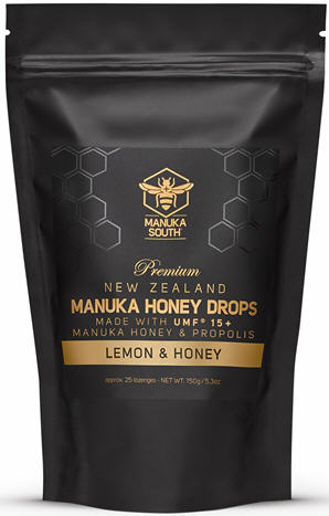 Manuka South® Manuka Honey Drops UMF 15+ Honey & Lemon 25
