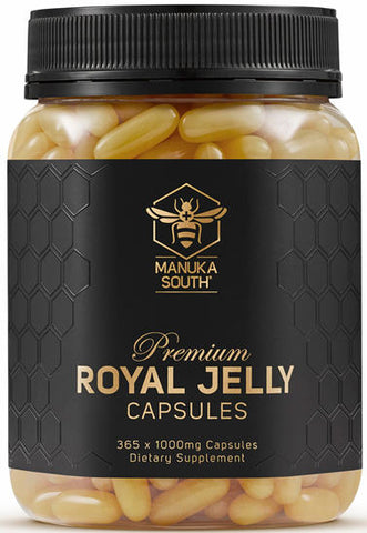 Manuka South Royal Jelly 0.3% 1000mg Capsules 365