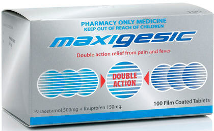 Maxigesic Tablets Economy Pack 100
