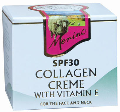 Merino Collagen Creme SPF30 with Vitamin E 100g